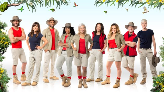 The cast of'I'm A Celebrity... Get Me Out Of Here!