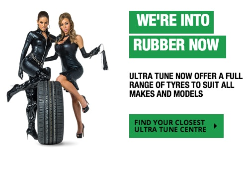 Ultra Tune's'Get into rubber' campaign was the second most complained about ad in 2016.