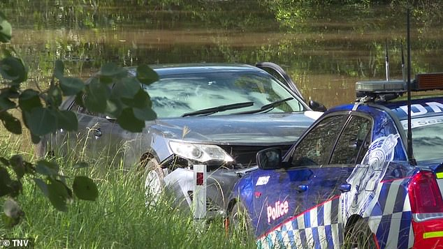 Pakistani national Ayaz Younas' Toyota Camry became trapped in the flood on Cattai Ridge Road in Glenorie on Sydney's northern outskirts