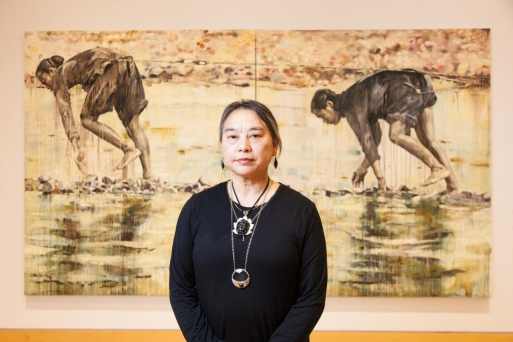 Hung Liu. Photo by Paul Andrews, courtesy of the Kemper Museum of Contemporary Art.