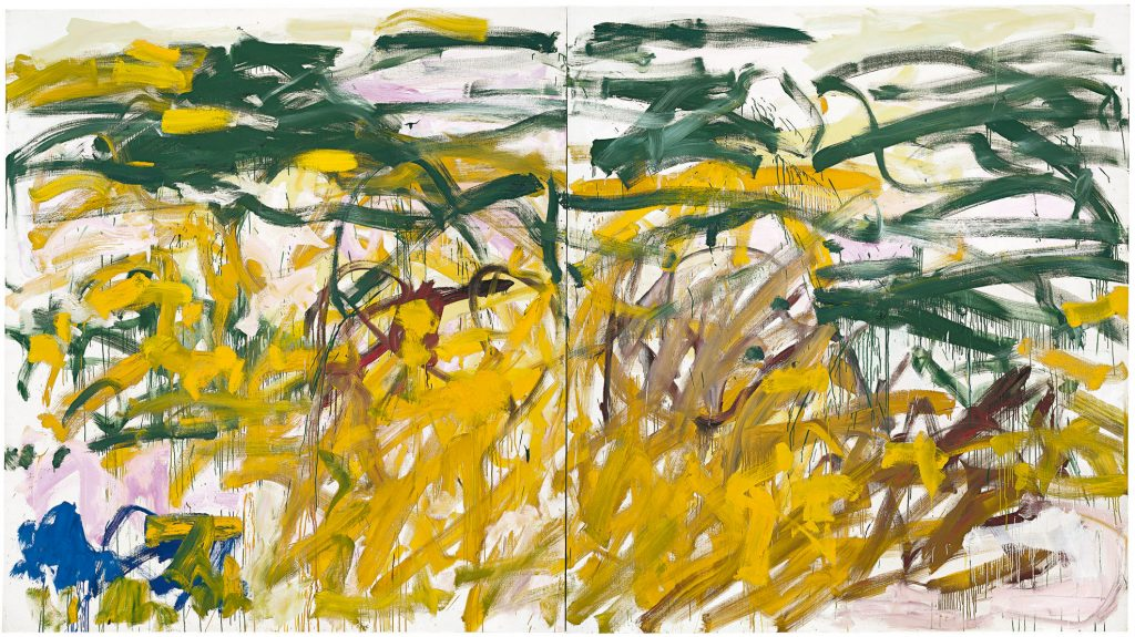 Joan Mitchell, No Birds (1987–88). Photo by Kris Graves, ©estate of Joan Mitchell.