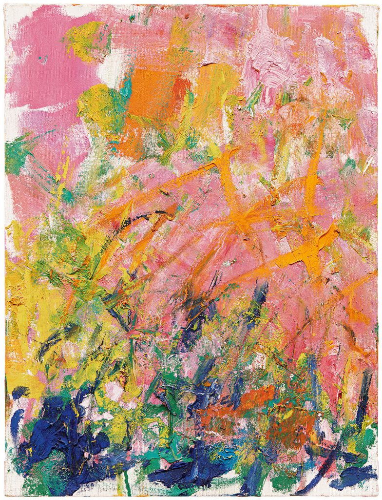 Joan Mitchell, Petit Matin (1982). Photo by Ian Lefebvre; private collection; ©estate of Joan Mitchell.