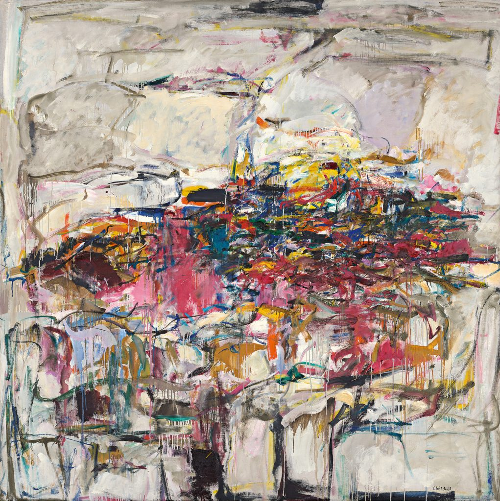 Joan Mitchell, City Landscape (1955). Photo by Aimee Marshall the Art Institute of Chicago, gift of Society for Contemporary American Art, ©estate of Joan Mitchell.